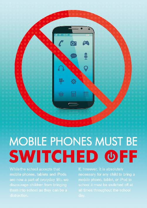 No Mobile Phones Poster