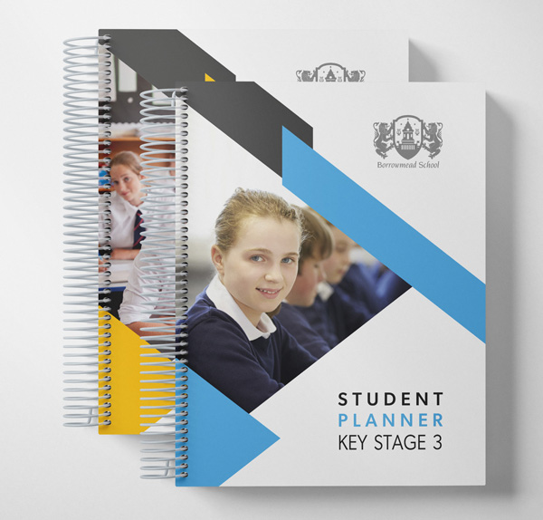 student planner multiple editions example covers