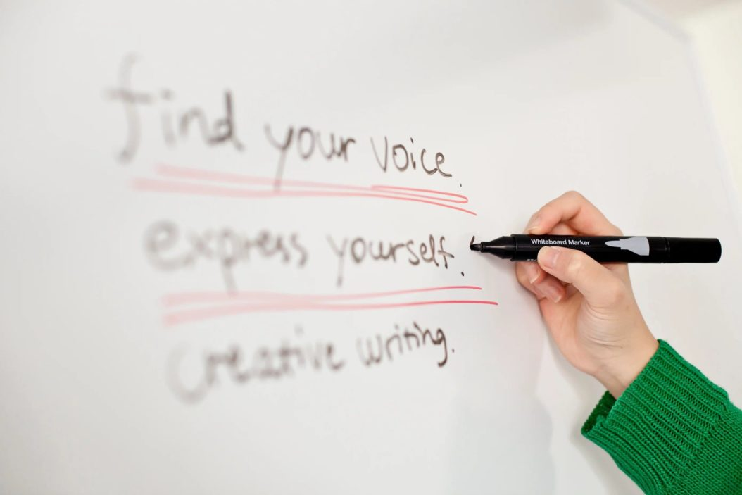 Find your voice and express yourself with creative writing