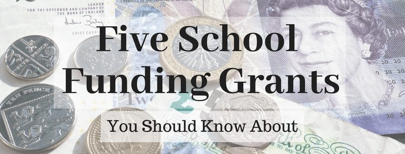 Five School Funding Grants You Should Know About