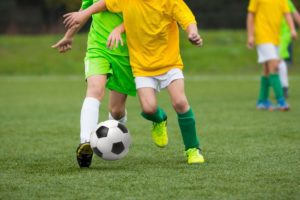 Get kids interested in football and soccer without shelling out more money