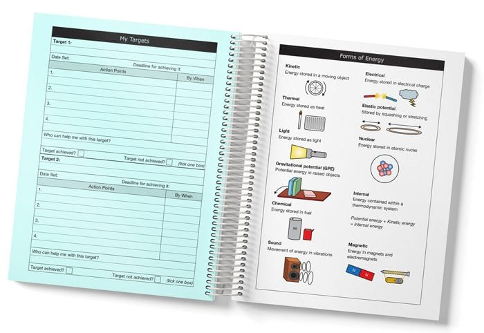 Secondary student planner