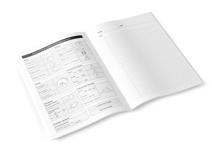 Internal image of exercise book