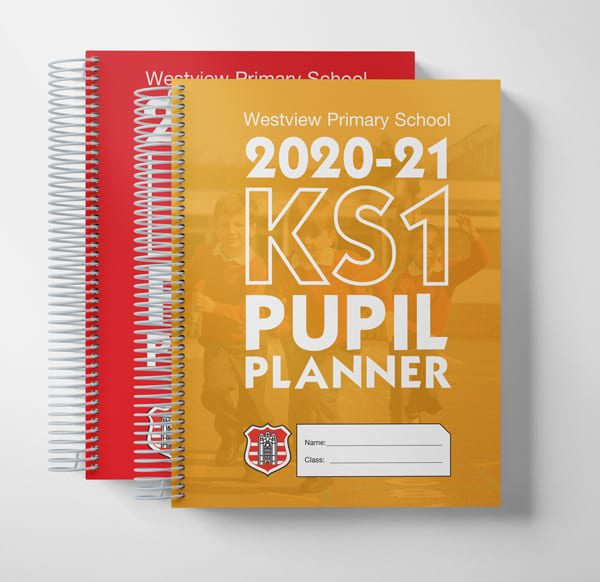 graphic of primary planner multiple editions cover