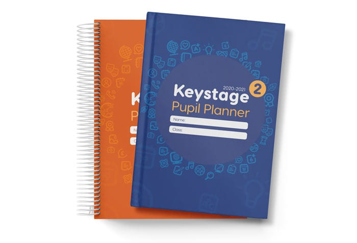 School planner binding choice