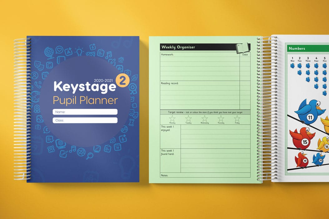 how do i make a school planner