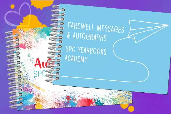 autograph book examples