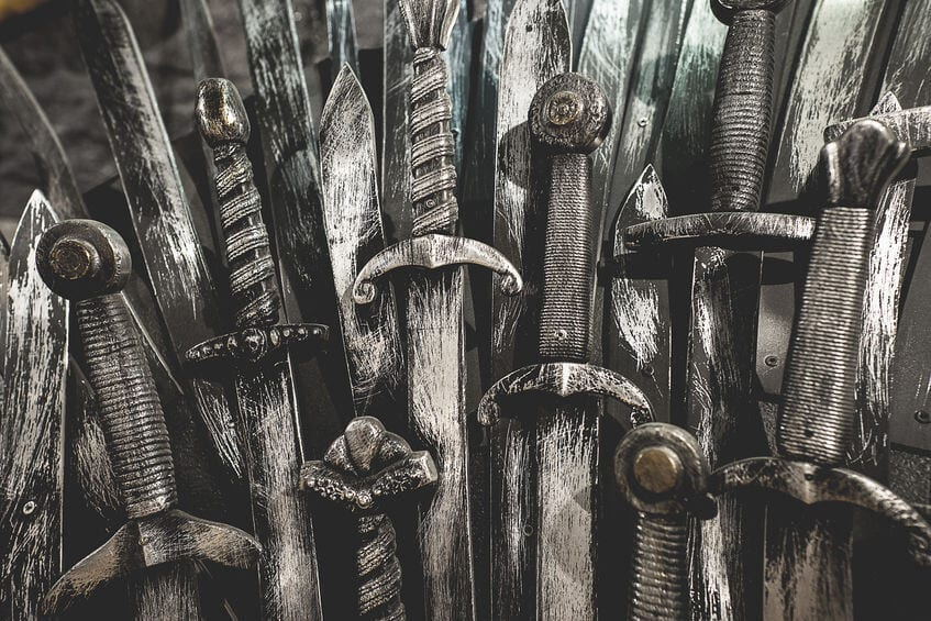 Swords from game of thrones