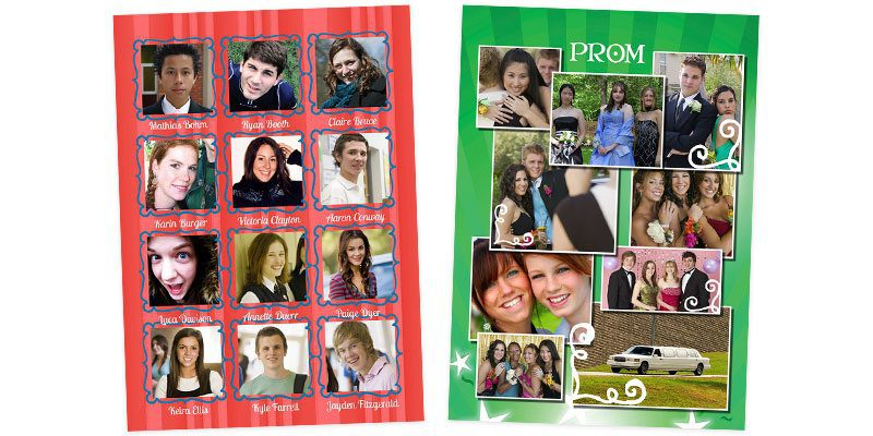Yearbook Design Idea Playful Patterns stripes