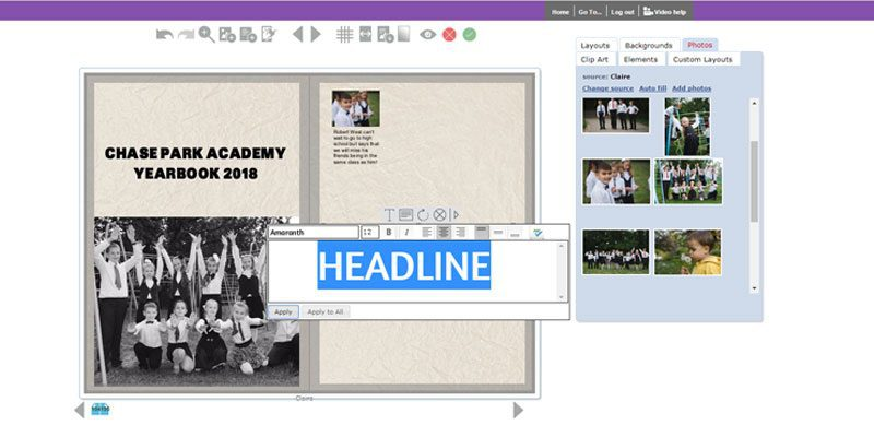 Yearbook Theme