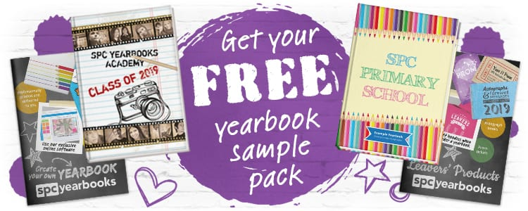 Free Yearbook Sample Pack