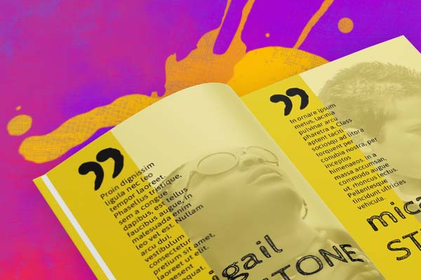 amazing yearbook layouts